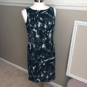 Ann Taylor Petite - gorgeous printed Silk dress